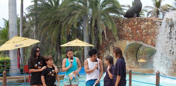 Programa ter� desenhos animados e gincanas entre visitantes do Beach Park