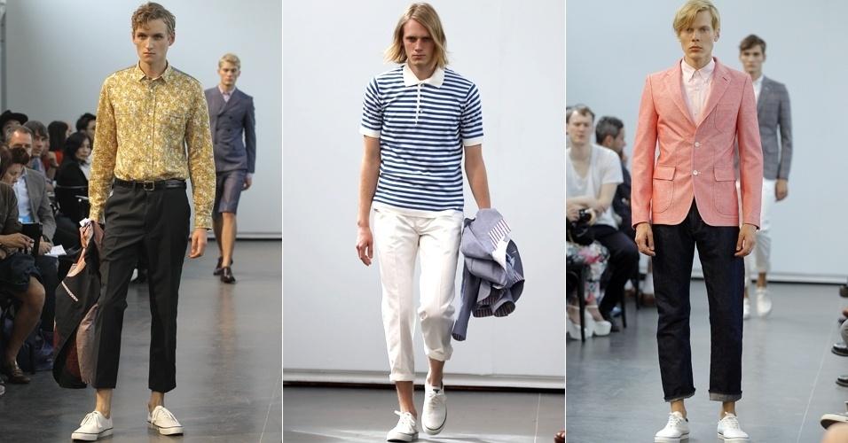 Looks de Junya Watanabe Man para o Verão 2013 na semana de moda de Paris (29/06/2012)