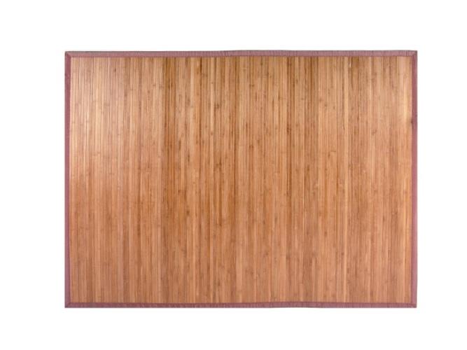 O tapete (2 x 1,5 m) é confeccionado artesanalmente em ripas de bambu pintadas e bordas em poliéster. Na Tok & Stok (www.tokstok.com.br), por R$ 179,90. Preços pesquisados em junho de 2012 e sujeitos a alterações