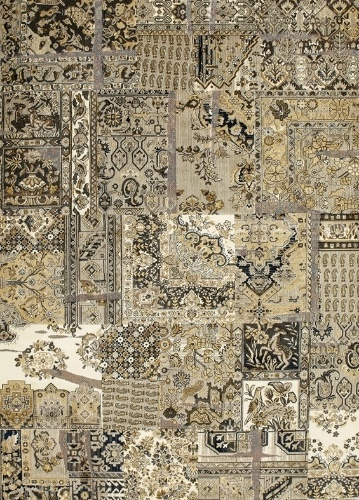 O tapete da linha Art Antigua, de fios sintéticos, mede 1,5 x 2 m e pode ser comprado na Doural - unidade 25 de Março (11 3328-6228) por R$ 580. Preços pesquisados em junho de 2012 e sujeitos a alterações
