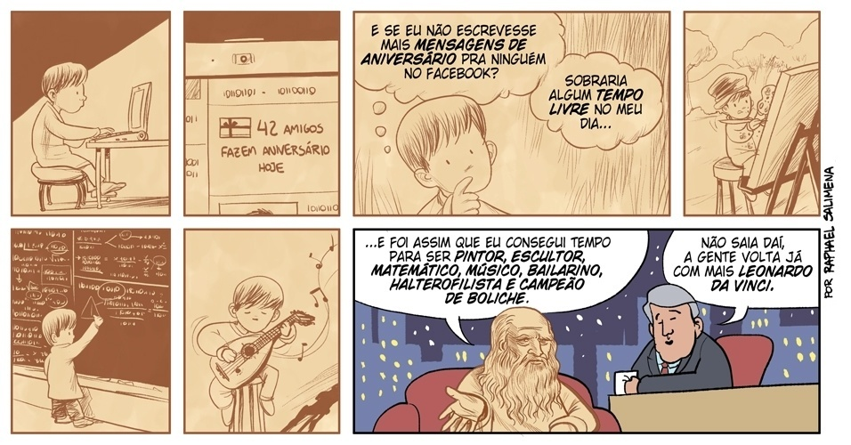 Humor: Tempo livre -  1/07/2012