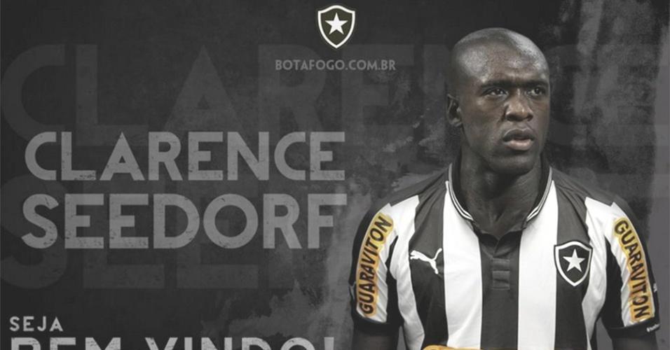 Facebook do Botafogo confirma a chegada de Seedorf à equipe carioca