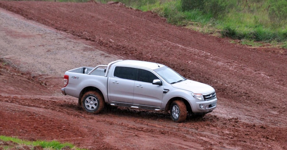 A Ranger enfrenta Chevrolet S10, Toyota Hilux, Mitsubishi L200, Nissan Frontier e Volswagen Amarok
