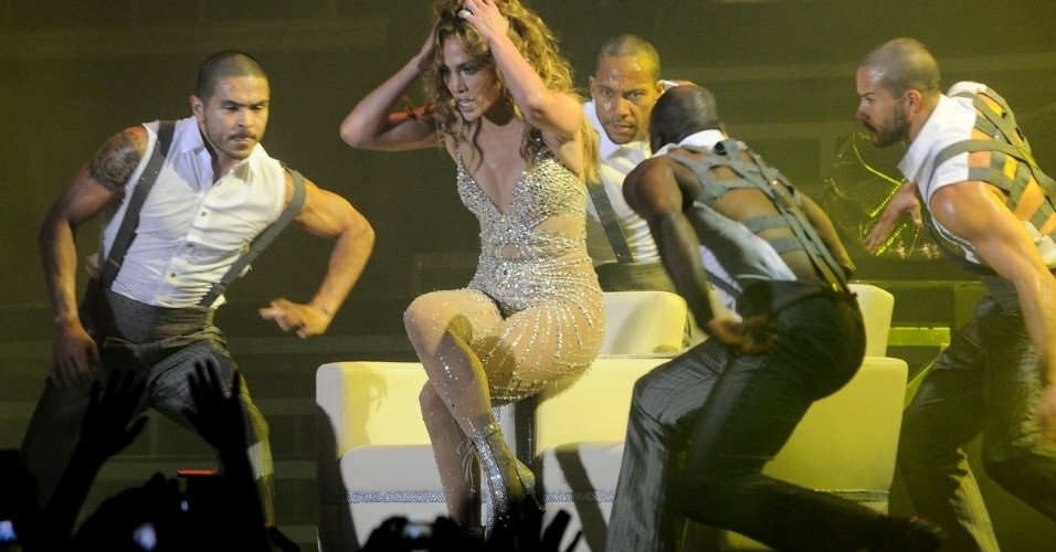J-Lo se apresenta no Arte Music Festival na noite de sbado (30/6/2012), em Fortaleza 