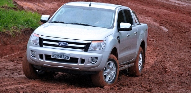 Nova Ford Ranger, aqui na vers&#227;o Limited: demorou, mas chegou para encarar rivais renovadas