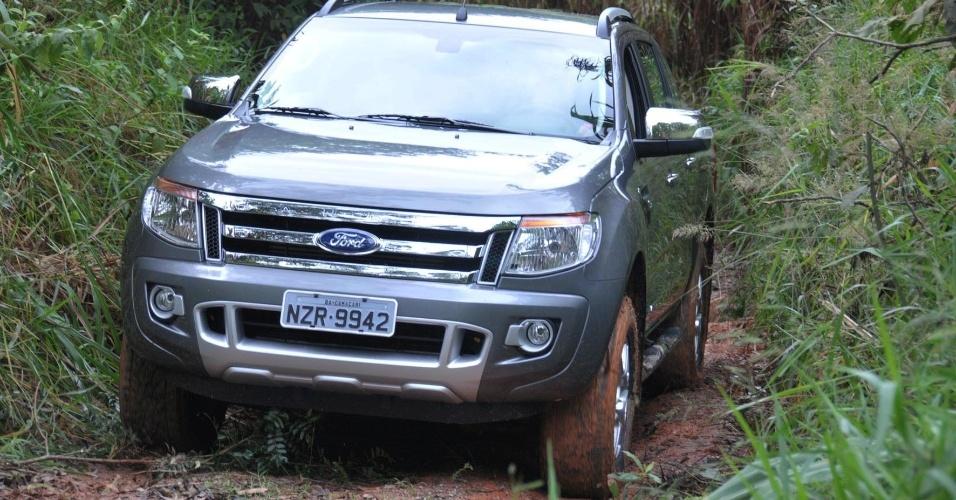 Para a América do Sul, a Ranger é fabricada na Argentina; há produção também na Ásia e na África