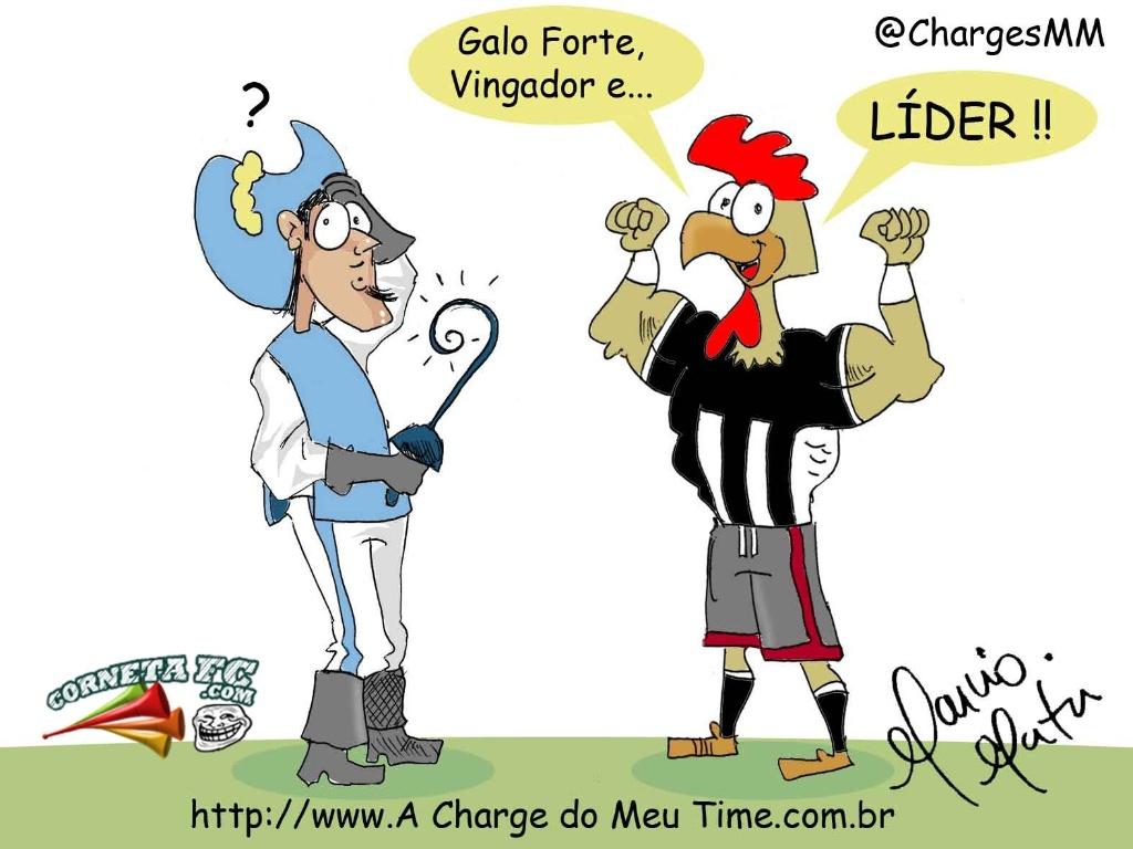 Corneta FC: Galo bate o Grêmio e lidera o Brasileirão