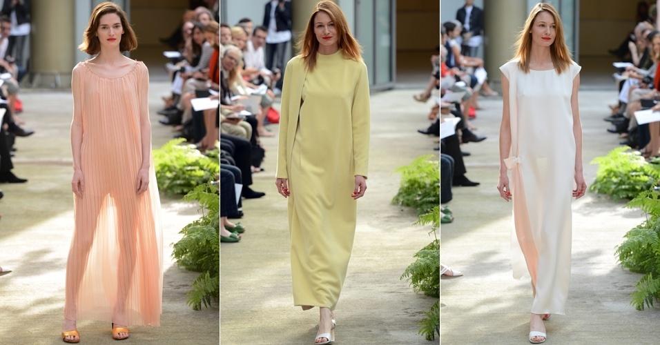 Looks de Adeline André para o Inverno 2012 na semana de alta-costura de Paris (02/07/2012)