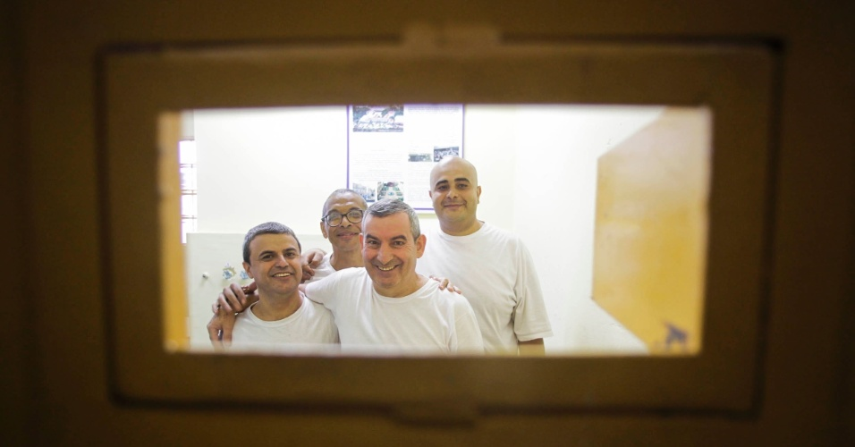 Da esquerda para a direita: Antonio Marcos de Freitas, 39, Venilton Leonardo Vinci , 52, Benedito Paulo Reis, 52, e Matheus Henrique Daniel, 30.