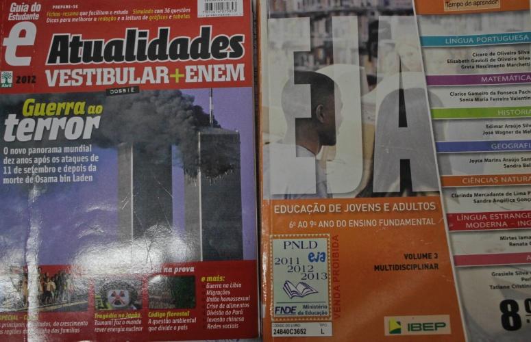 Livros mais procurados pelos presidiários da Penitenciária 1 de Serra Azul