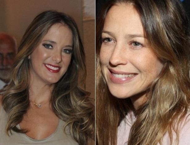 Quatro anos se falar, Luana Piovani e Ticiane Pinheiro retomam amizade (2012)