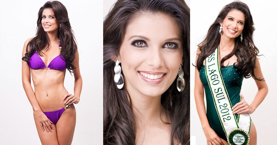 3.jul.2012 - Representante de Lago Sul, Tamires Rodrigues, vence o Miss Distrito Federal 2012 e vai disputar o t&#237;tulo de Miss Brasil Universo 2012
