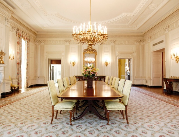 Sala De Jantar Com Janela Grande ~ Sala de Jantar do Estado está entre as mais grandiosas salas