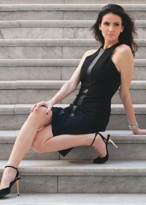 """Lisandra Souto posa para a revista """"Contigo!"""" (4/7/2012)"""