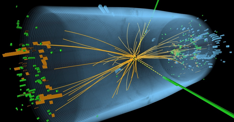 4.jul.2012 - O Centro Europeu de Pesquisa Nuclear (CERN) anunciou nesta quarta-feira a descoberta de uma nova partícula, que pode ser o procurado Bosón de Higgs, embora ainda não possa confirmar isso com certeza científica.