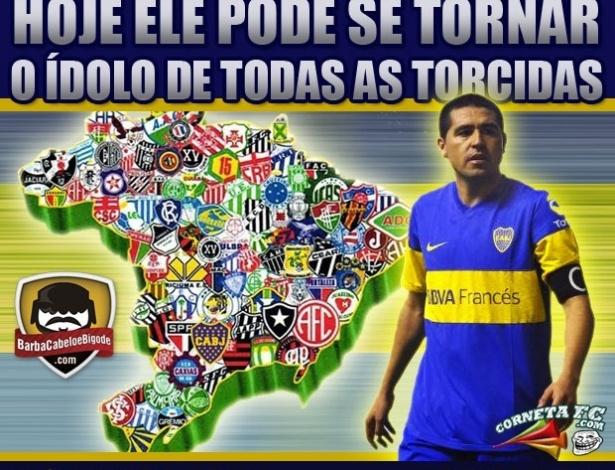 Corneta FC: Vai Riquelme!