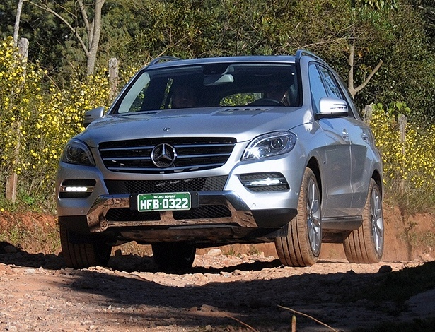 Mercedes-Benz ML 350: vers&#227;o &#250;nica traz megaconte&#250;do de conforto e seguran&#231;a