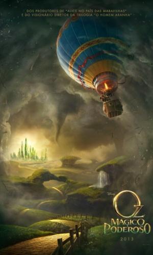 "Poster nacional de ""Oz: Mágico e Poderoso"""