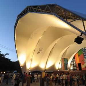 Tenda da Flip 2012, um dos principais eventos literários do Brasil (4/7/12)