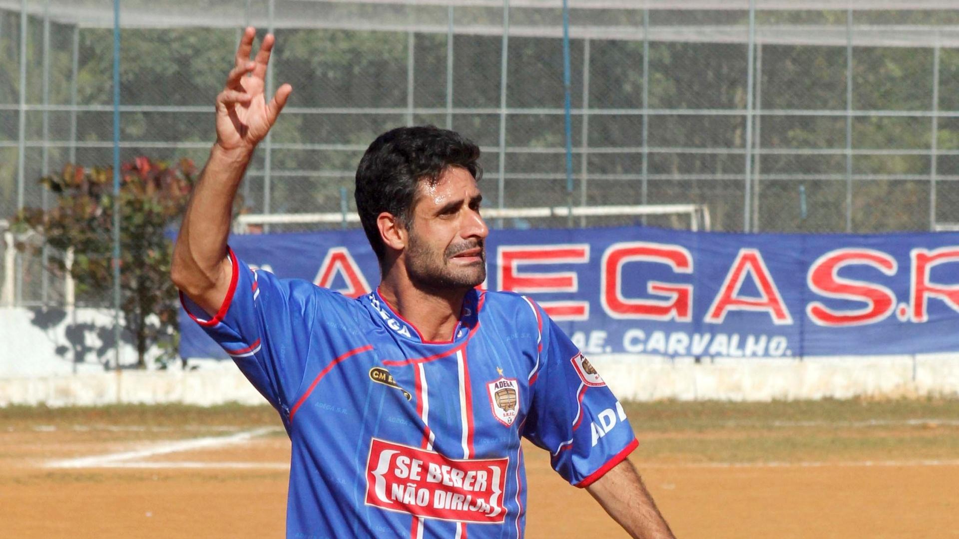 Zagueiro Diego, do Adega, da Copa Kaiser