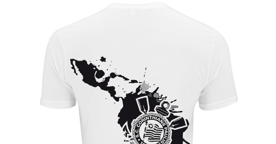 Camisa comemorativa lançada pelo Corinthians após título da Copa Libertadores