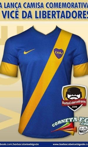Corneta FC: Apresentada a nova camisa do Boca Juniors