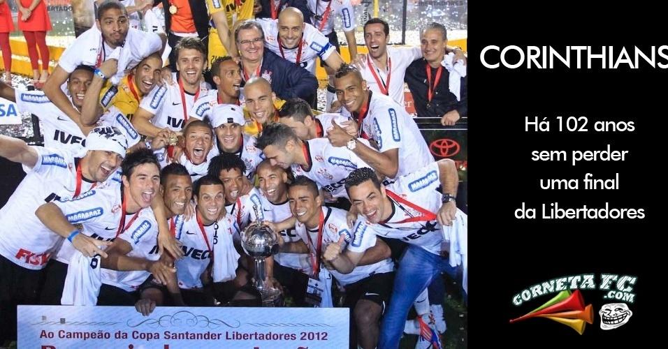 Corneta FC: Corinthians, há 102 anos...