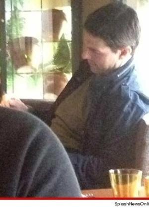 Katie Holmes e Tom Cruise duas semanas antes da atriz pedir o divórcio (5/7/12)
