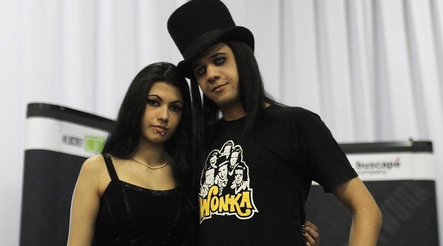 Lana Birds e Milho Wonka participam do YouPix 2012. Wonka tem um canal de humor no YouTube chamado Chocolatv