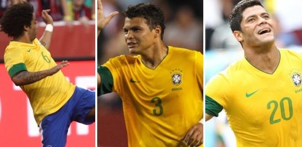 Marcelo, Thiago Silva e Hulk, convocados para os Jogos Olímpicos