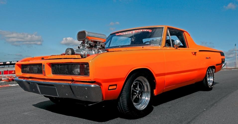 Dodge Charger R T Vira Picape E Ganha V8 Big Block De 457