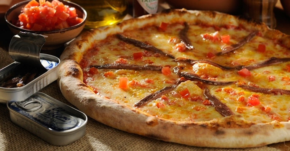 Pizza de aliche