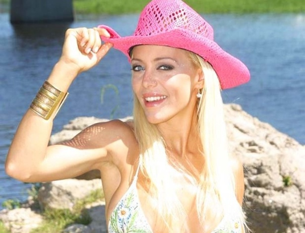 Evangelina Anderson, ex-mulher de Matias Demichelis, com que foi casada por quatro anos e meio