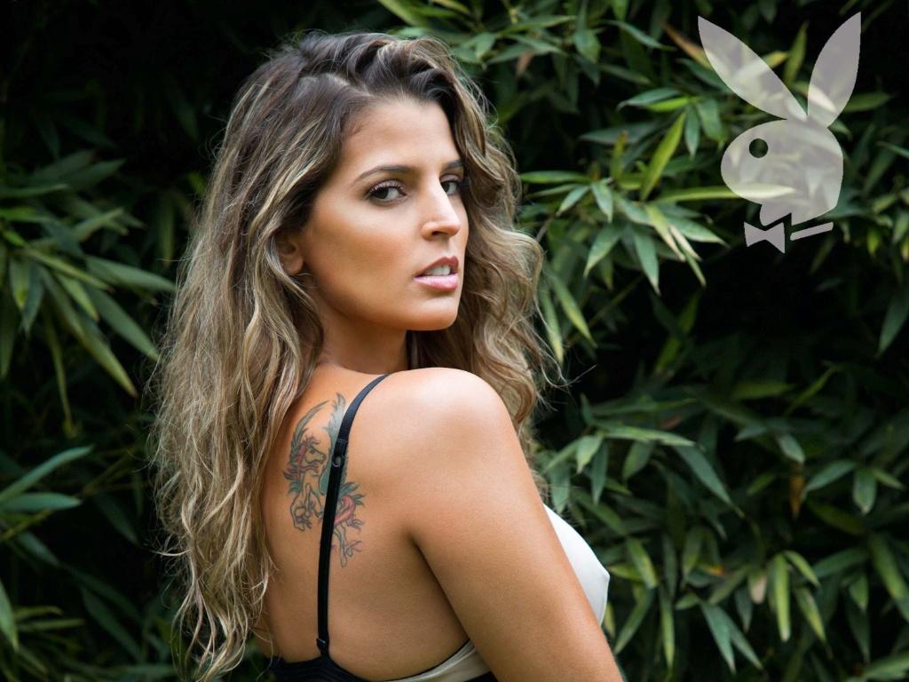 Playboy Divulga Nova Foto Do Ensaio De Mari Paraiba Capa Julho Da