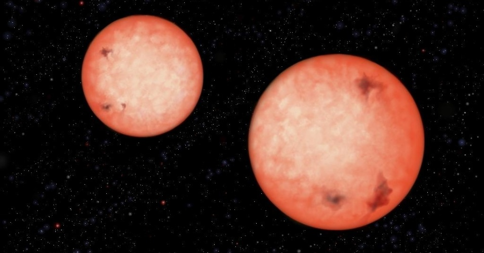 Telesc&#243;pio descobre estrelas bin&#225;rias que orbitam uma a outra em 2,5 horas
