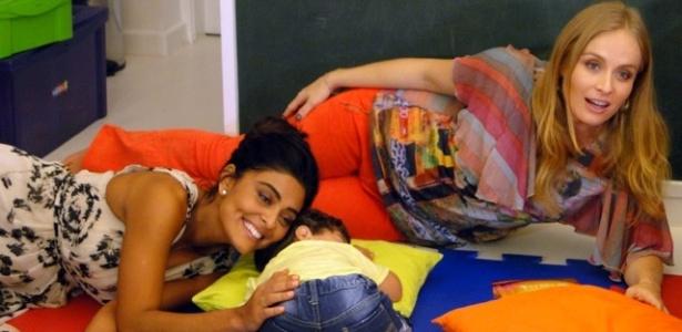 Angélica entrevista Juliana Paes no programa