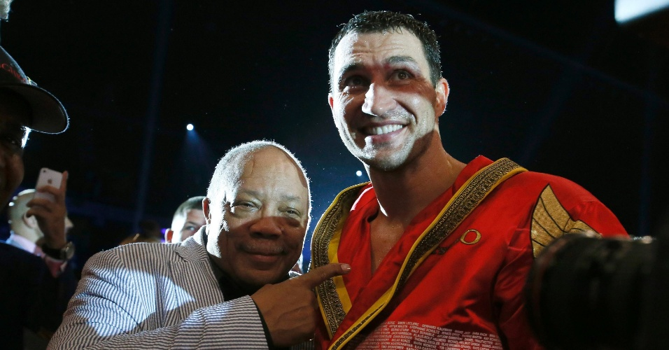 Wladimir Klitschko e Quincy Jones