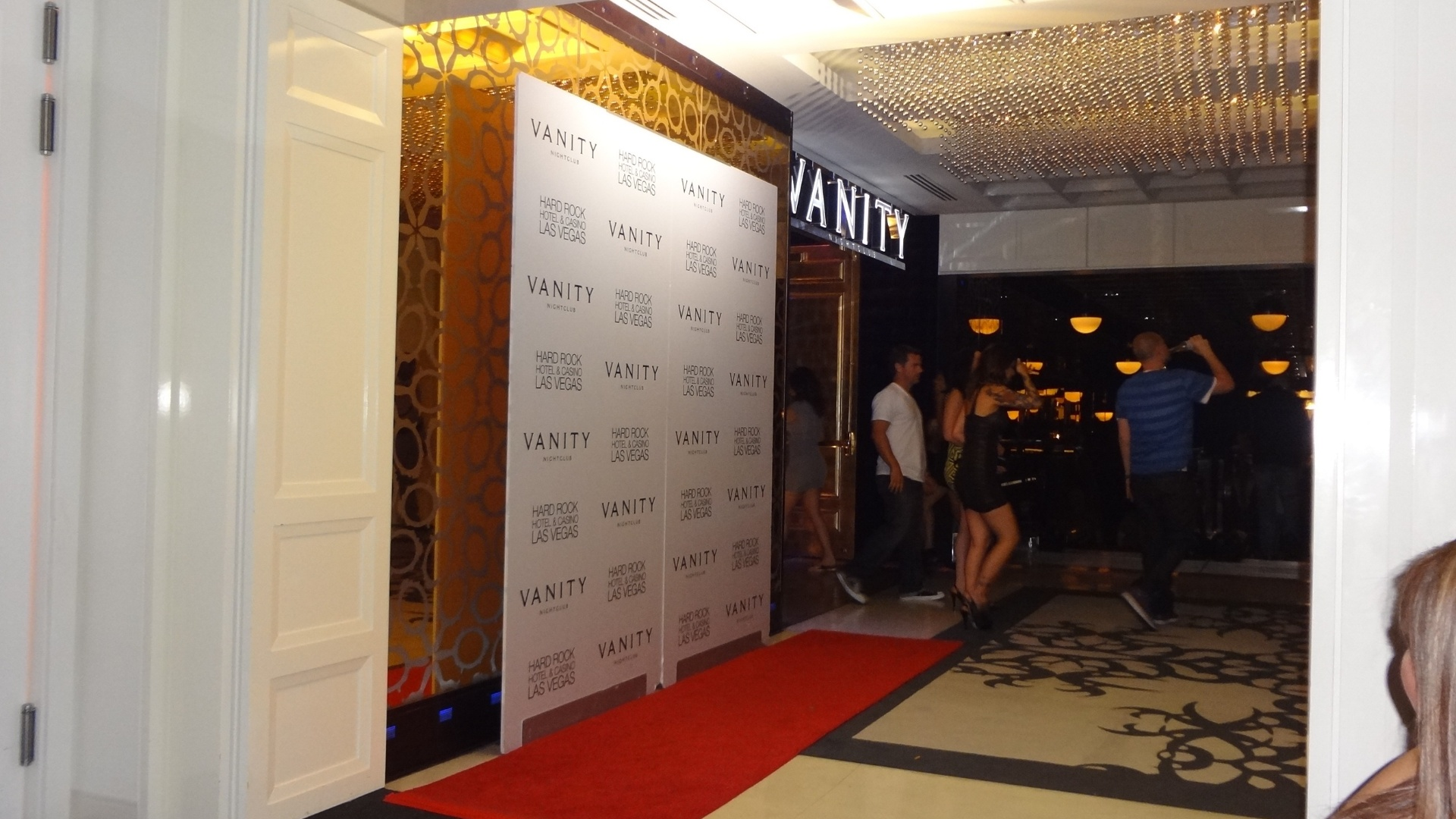 A Vanity Night Club fica no hotel-cassino Hard Rock