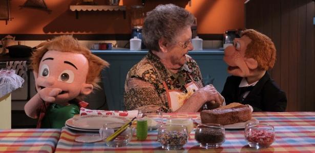 Palmirinha � a convidada especial do quadro de culin�ria na estreia de TV Cocoric�