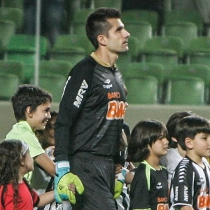 Goleiro Victor, que estreou pelo Atl&#233;tico nesse domingo, se destacou na vit&#243;ria sobre a Portuguesa