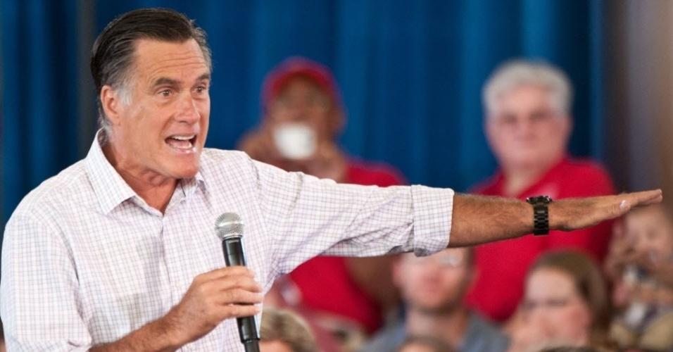 10.jul.2012- Mitt Romney, candidato republicano à Presidência dos Estados Unidos