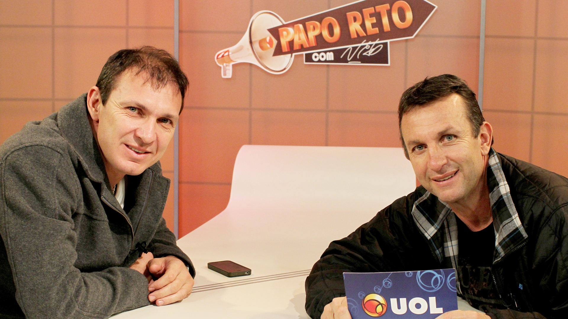 Papo Reto - Neto e Velloso, ex-goleiro com passagens por Palmeiras e Atlético - MG