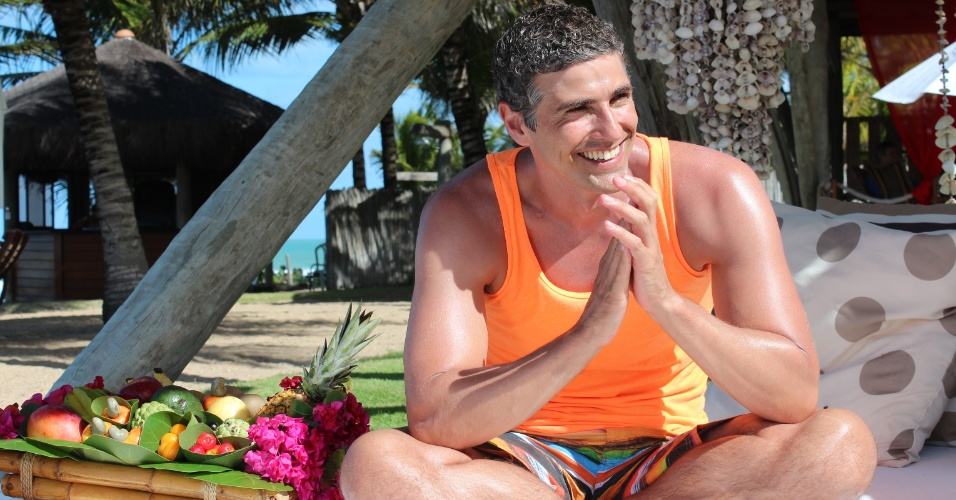 Reynaldo Gianecchini em foto para a revista