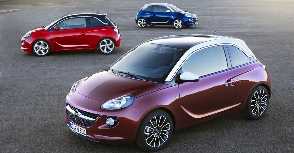 Opel e Vauxhall, empresas alemã e inglesa, respectivamente, e filiadas à General Motors, apresentaram nesta quarta-feira o compacto Adam