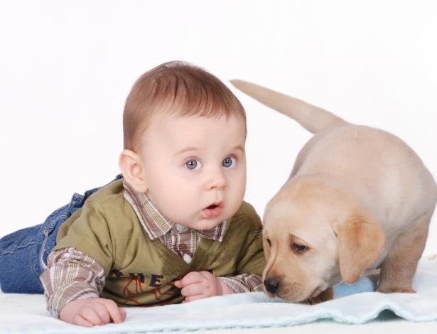 Pesquisa aponta que o contato com o animais de estimação ajuda no desenvolvimento imunológico do bebê