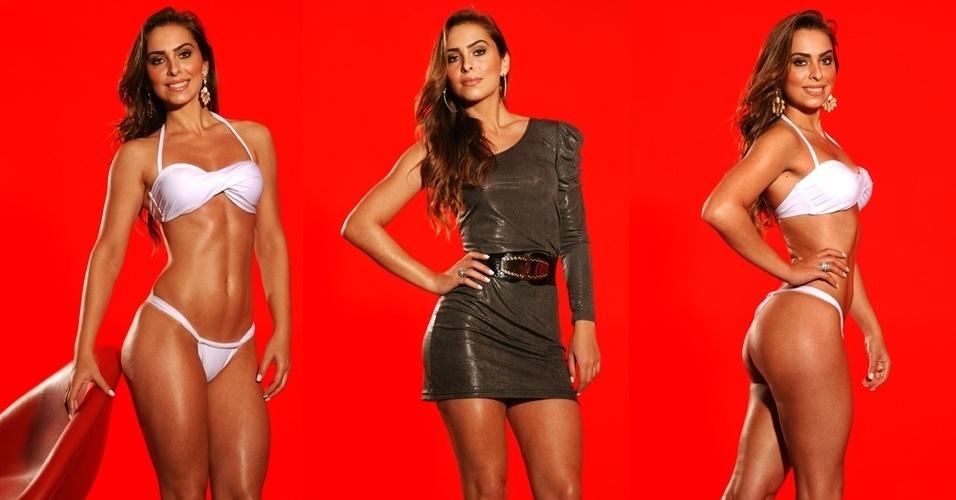 Esta é Sâmia, 25 anos, publicitária e modelo