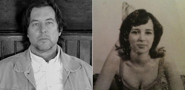 William Devogue (à esquerda), filho de Tina Devogue (foto), diz ser filho de Bob Dylan