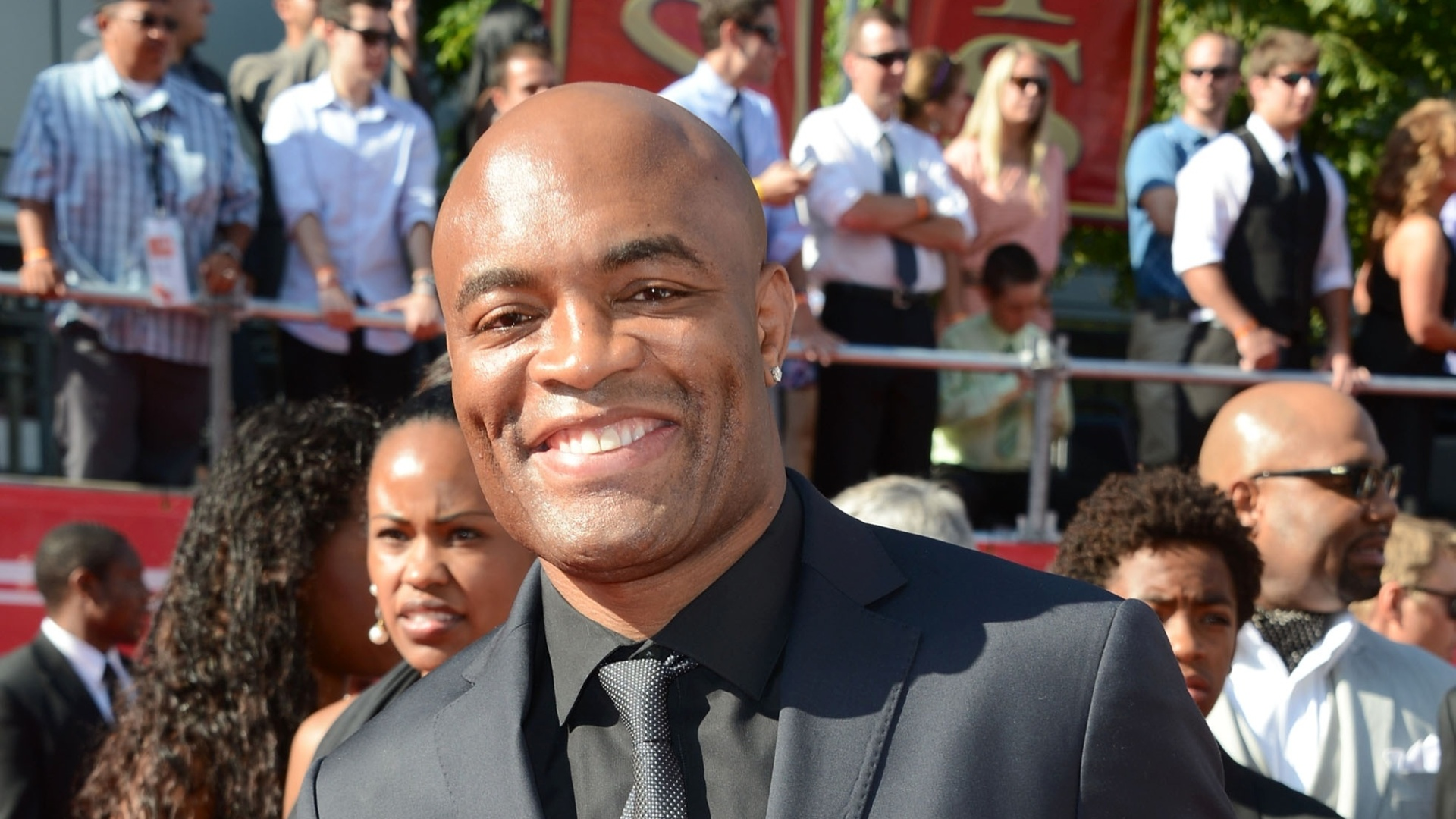 Anderson Silva participa da premiao ESPY Awards nos EUA, feita pelo canal ESPN; brasileiro concorreu a melhor lutador, mas Floyd Mayweather, do boxe, faturou