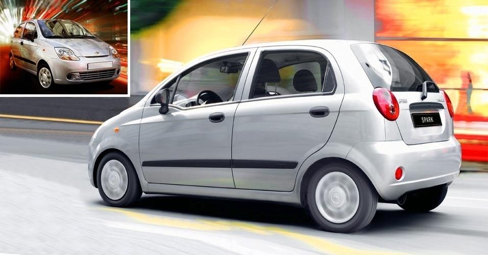 Chevrolet Spark é feito em Valencia, na Venezuela