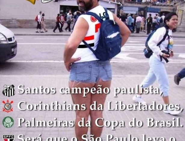 Corneta FC: Só falta o São Paulo